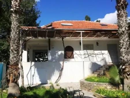 Datça Mesudiye Denize Sıfır Villa 4200M2 Arsa İçerisinde